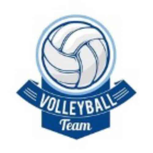 BUC - Campus Life - Facilities - Sports Logos - Volleyball